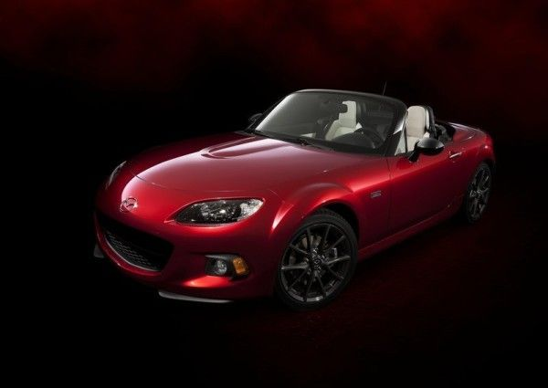 2014 Mazda MX 5 25th Anniversary Side Images 600x425 2014 Mazda MX 5 25th Anniversary Review