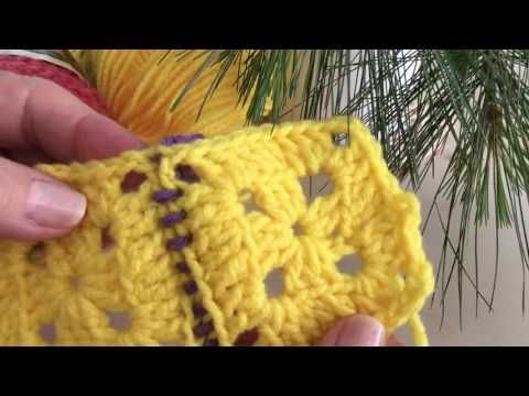 Como Unir Cuadros En Crochet ( 7 Maneras Faciles ) - YouTube