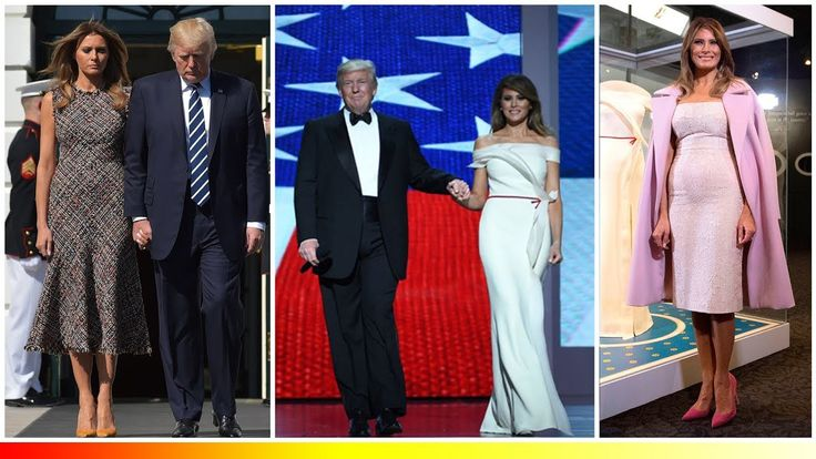Every time Melania Trump's scandalous outfits stole the show from President Donald Trump - https://www.fashionhowtip.com/post/every-time-melania-trumps-scandalous-outfits-stole-the-show-from-president-donald-trump/