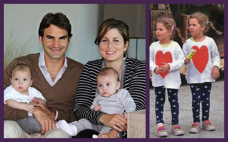 The Roger Federer twins: How cool would it be if they one day played doubles on the tour? Description from sportskeeda.com. I searched for this on bing.com/images
