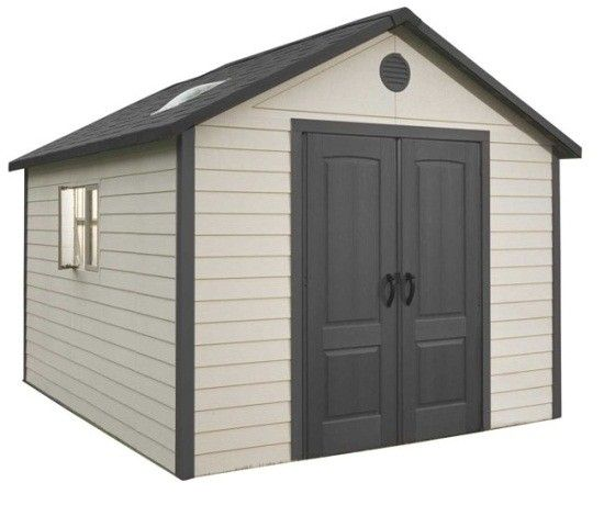 6415 Lifetime storage shed main view.