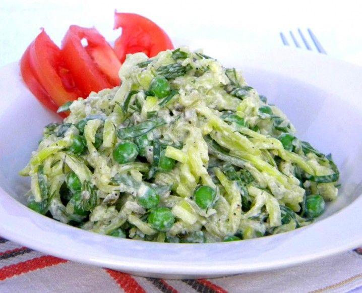 83 best raw italian images on pinterest vegan food vegan raw addicted to raw food recipe zucchini pasta salad forumfinder Image collections