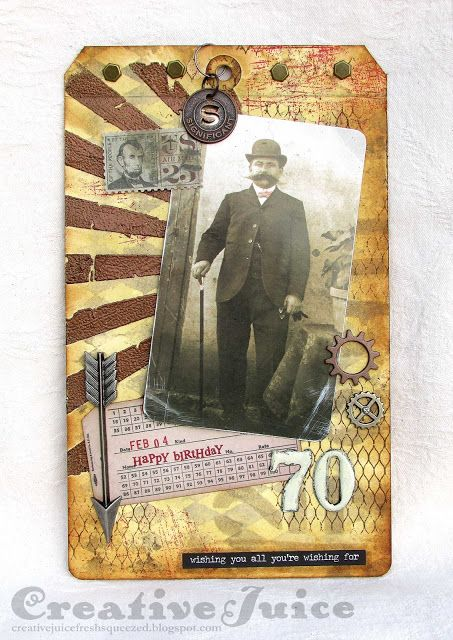 Lisa Hoel – Tim Holtz's 12 Tags of 2016, February
