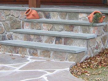 Wondering If We Should Clad Our Concrete Steps Since We