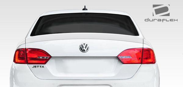 Duraflex 11-14 Volkswagen Jetta R Look Rear spoilers Trunk Lid Spoiler