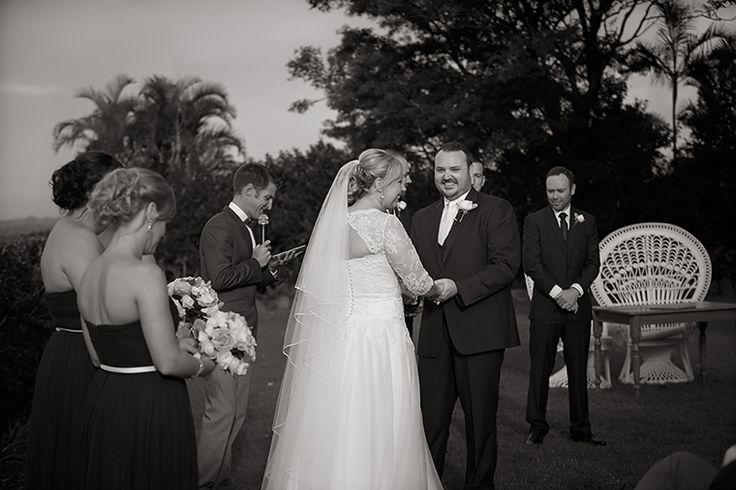 A fun wedding ceremony in Byron Bay! Pic Richard Windeyer. Byron Bay Wedding Celebrant.