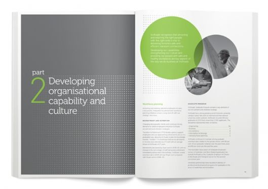 :: VicRoads Annual Report 2009–10 by Magnetic Design ::Reports 200910, Design Layout Brochures