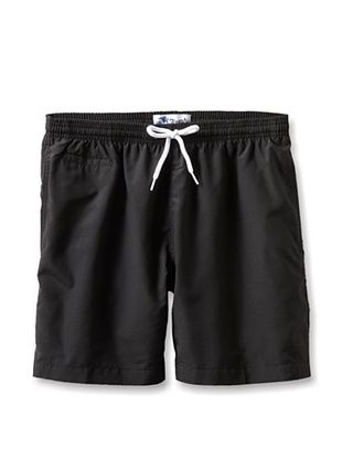 60% OFF TRUNKS Men's San-O Swim Shorts (Black)