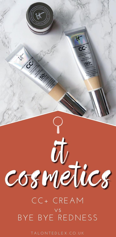 IT Cosmetics Foundation Comparison CC+ Cream vs Bye Bye