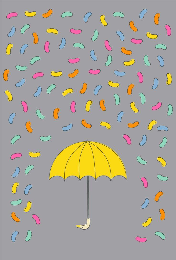 Jellybean Rain by Thunder and Icecream