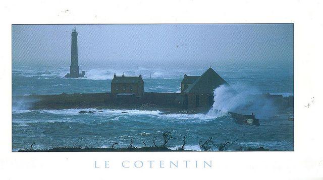 The lighthouse - on the treacherous Normandy coast