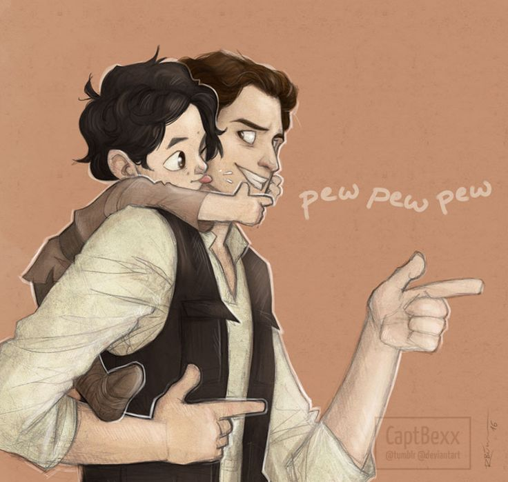 Father and son by CaptBexx on DeviantArt. This is the cutest most heartbreaking thing