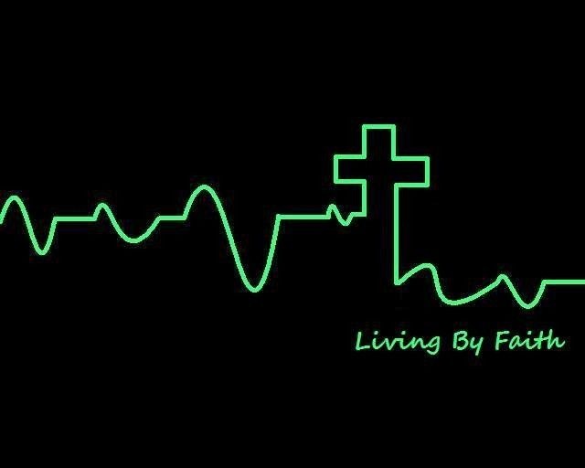 Living By Faith Quote Pic Love Hope Fear And