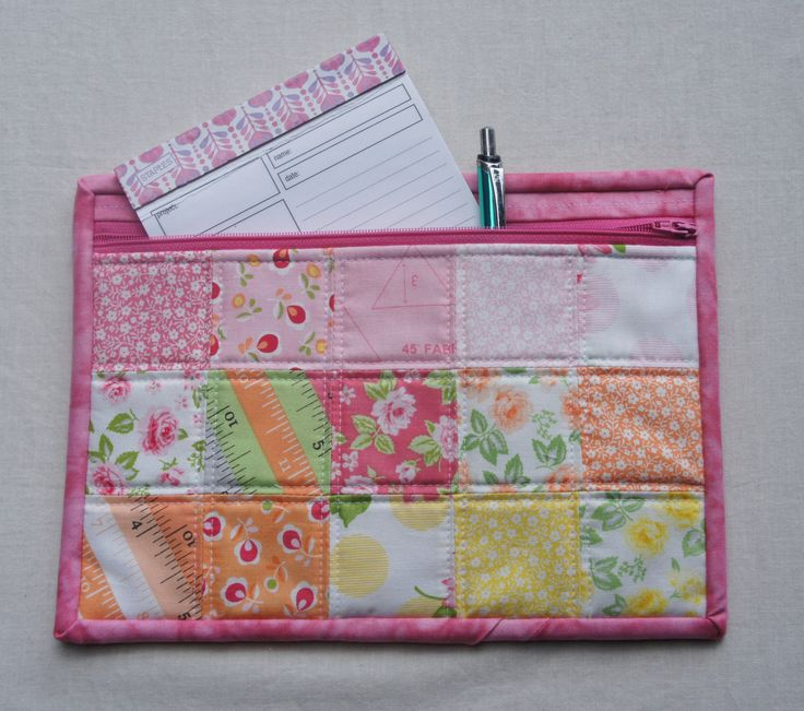 Zippered Knitting Project Bag Tutorial : Images about wallets and purse organizers on