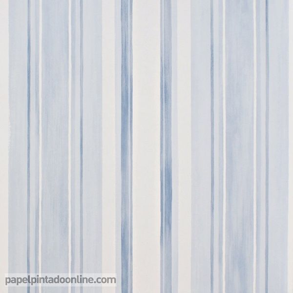 Papel pintado infantil babies 10144 con rayas verticales - Papel pintado de rayas verticales ...