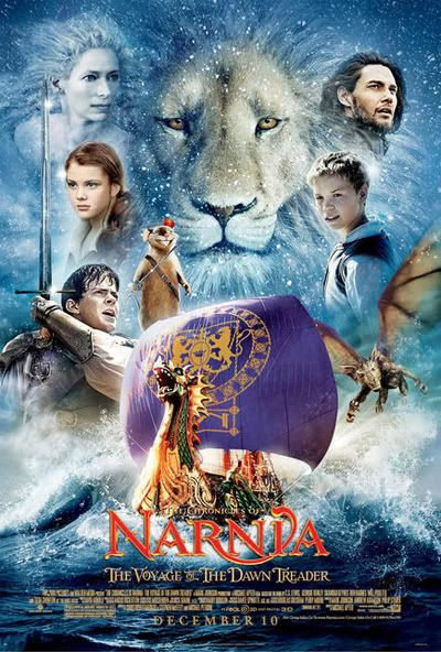 The Chronicles of Narnia: The Voyage of the Dawn Treader. slight alterations from the book, but very watchable.
