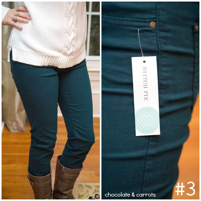 Interested in colored denim- a little outside the box for me. But it might be nice to spice up mu jeans and a cute shirt style. :)