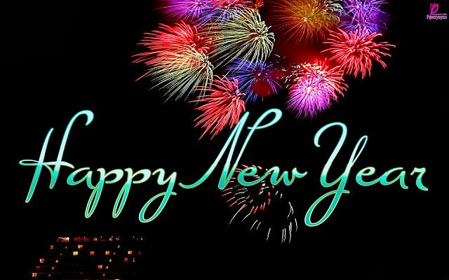 Happy New Year Wishes 2014 Card with Greetings SMS Messages