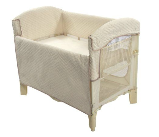 If interested in co-sleeping but not bed sharing (keeping baby in the same room as you as recommended to prevent SIDS), this is best  Get the extenders to raise it to beg level.  Huge difference over the bassinet - easier to check in on them and to bring them in/out for nighttime feedings and diaper changes.  Pack 'n Play sheets fit.  Also - don't get the mini size! They grow out of it way too quickly!   Amazon.com: Arm's Reach Concepts Ideal Arc Co-Sleeper Bedside Bassinet, Natural: Baby