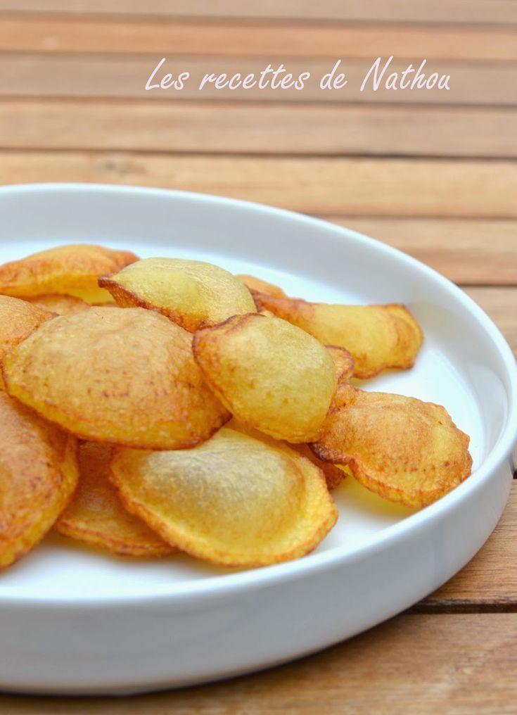 Les recettes de Nathou: Pommes de terre soufflées