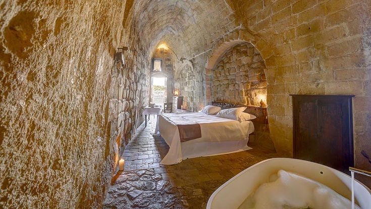 Sextantio Albergo Diffuso Hotel Set in the Cave Rooms