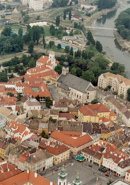 Győr #Hungary-The home of my Grandpa and Grandma Arki before fleeing to America, during The Hungarian Revolution. Would really like to visit some day!