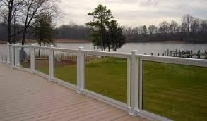 Image result for glass handrail concrete deck