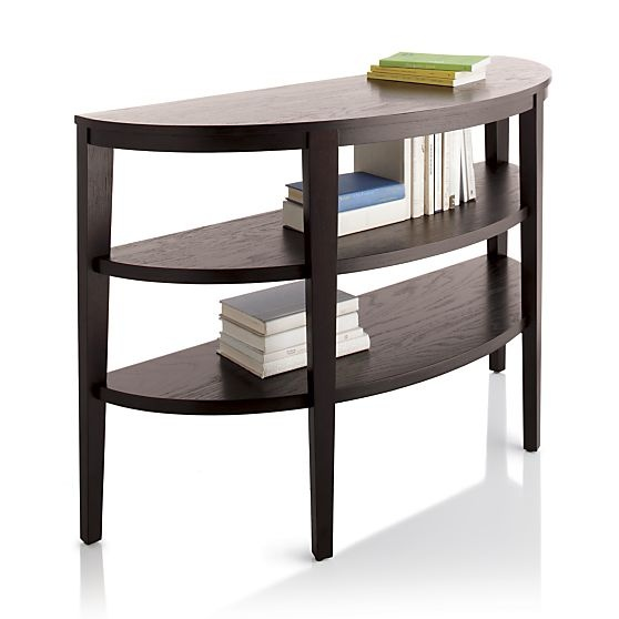 Parsons white top dark steel base dining tables crate and barrel crates and in - Crate and barrel parsons chair ...