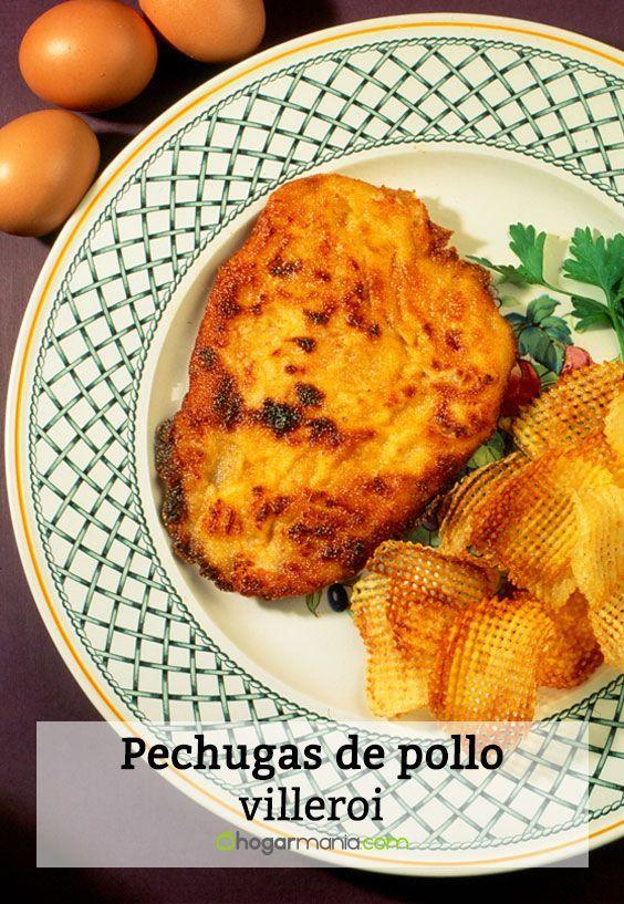 Receta de Karlos Arguiñano de pechugas de pollo villeroi.   Recetas ...