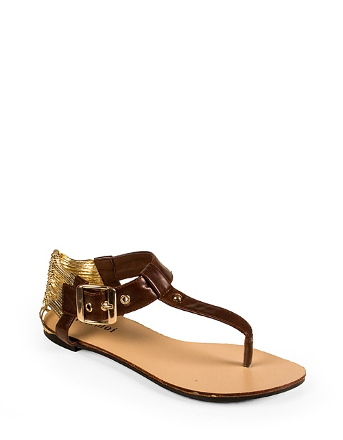 #Sandals with gold straps! #toimoifashion #fashion #fashionable #style #stylish #shoes #ss13 #summer