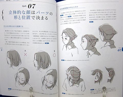 アニメーターが教えるキャラ描画の基本法則中身01