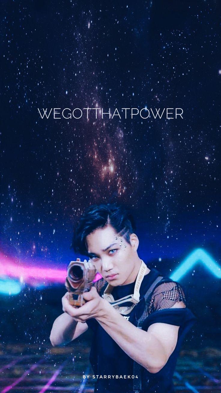 EXO REPACKAGED THE POWER OF MUSIC    WALLPAPER © to【starrybaek04】 #EXO #KAI #COMEBACK #THEWAR #POWEROFMUSIC #엑소