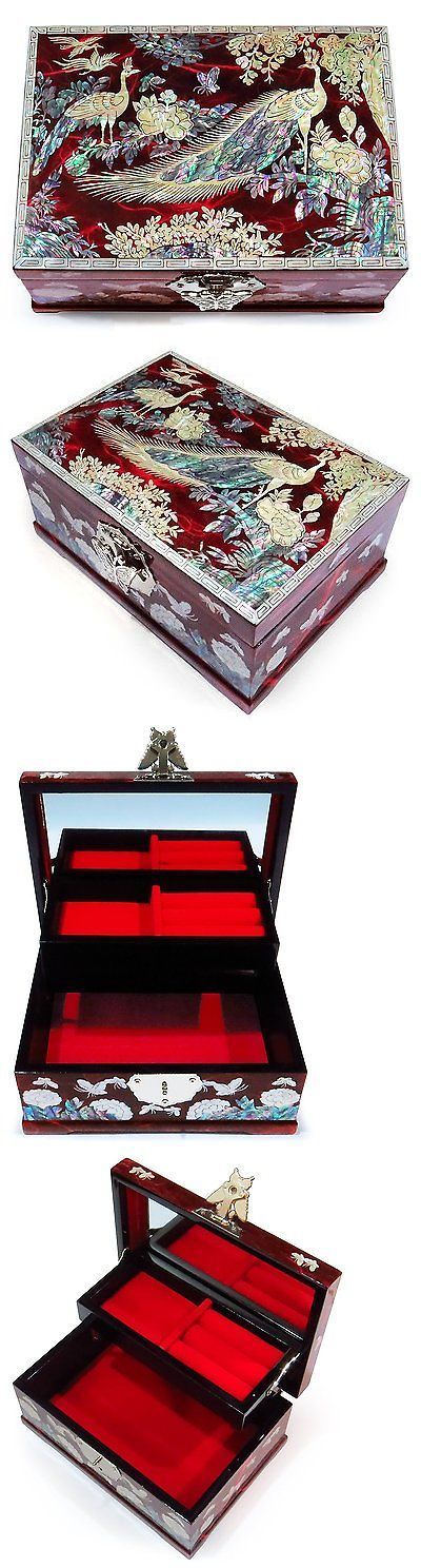 1511 best Jewelry Boxes 3820 images on Pinterest Jewel box