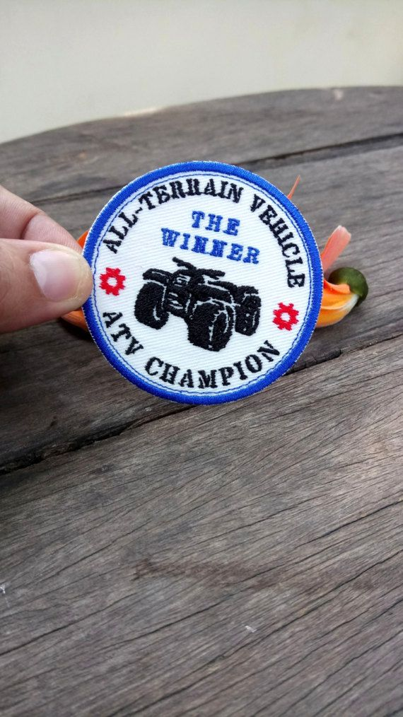 Check out this item in my Etsy shop https://www.etsy.com/listing/500990450/the-winner-of-atv-champion-all-terrain