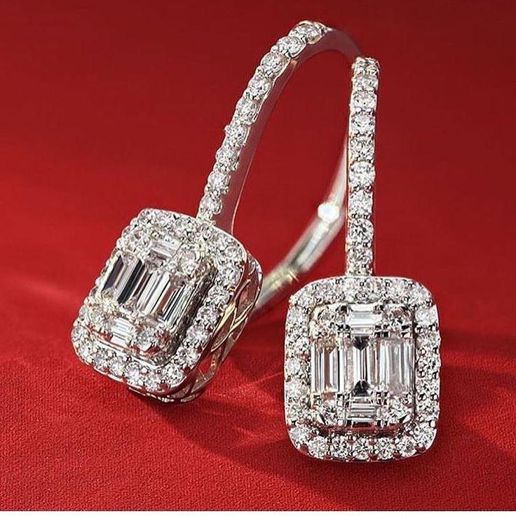 3 Likes, 0 Comments - SilverJewelleryCouture (@silverjewellerycouture) on  Instagram · Diamond EarringsDiamond JewelleryUnique EarringsWomen's ...