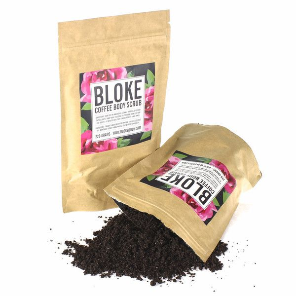 Say goodbye to dry skin and imperfections, Bloke Coffee Scrub is rough enough to exfoliate yet gentle enough to hydrate and leave your skin silky smooth. Bloke features the not-so-secret ingredient: ground coffee beans. This shower scrub is packed full of cellulite and stretchmarks worst enemy: caffeine! Himalayan sea salt and brown sugar rejuvenate your skin by gently exfoliating your pores to uncover the healthy skin below. #coffeescrub #bodyscrub #scrub