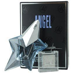 Thierry Mugler - Angel Mugler Palace Collection (EDP+Diamond Wax) by Thierry Mugler. $57.85. Thierry Mugler presents a daring limited edition ANGEL fragrance dressed with a dramatic Swarovski crystal to celebrate excessive glamour. A spray of the adorned faceted bottle scents the skin with the ultimate secret of absolute seduction.Angel by Thierry Mugler is original. It evokes the emotion of tender childhood memories together with a sense of dreamlike infinity. It's pure, i...