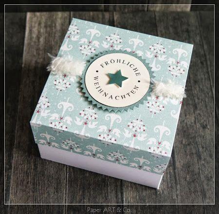 Weihnachtsbox von Mary-Jane paperartandco.blogspot.de für #WeihnachtenKannKommen www.danipeuss.de