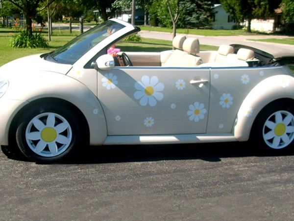 TheDaisyPeople.com - Daisy decals and stickers for your Volkswagen Beetle, Scooter or ...