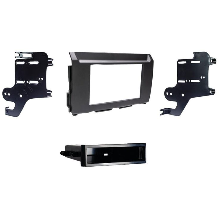 Metra Iso Single-din With Pocket Installation Kit Nissan Titan 2017 & Up And Titan Xd 2016 & Up