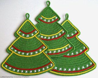 030 Bullfinch potholder decor  Amigurumi Crochet by LittleOwlsHut