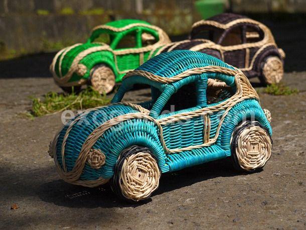 volkswagen beetle of rattan