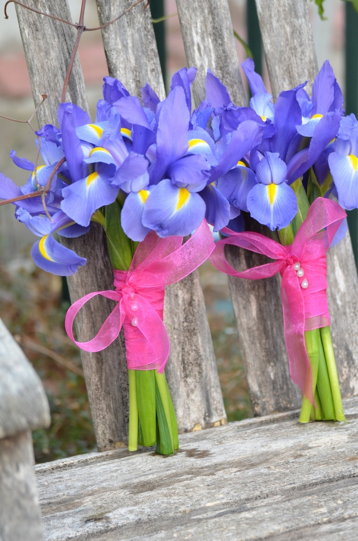 Flower girls bouquets