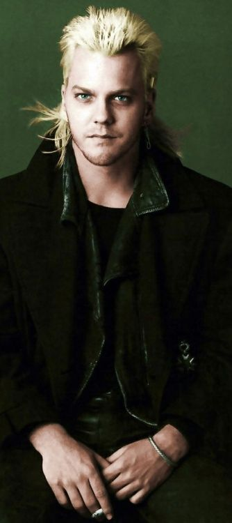 Kiefer Sutherland as David / The Lost Boys <3 there was a time when I was obsessed with this man.