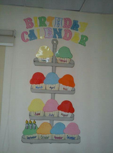 Birthday Calendar For Classroom : Best ideas about birthday calendar classroom on