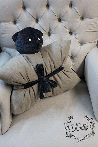Подушка-игрушка Мишка дизайн №2