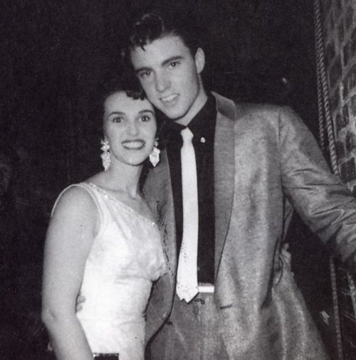 "Ricky Nelson and Wanda Jackson a.k.a. ""the Queen of Rockabilly""."