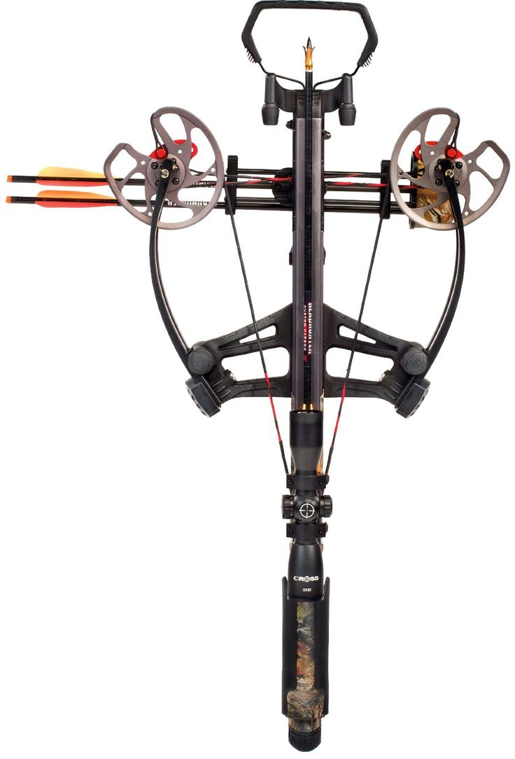 The Barnett Vengeance crossbow package combines a lightweight CarbonLite Riser with reverse draw technology.