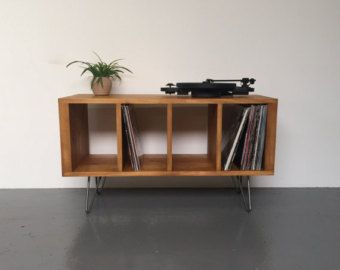 25 best ideas about record player stand on pinterest for Meuble chaine hifi