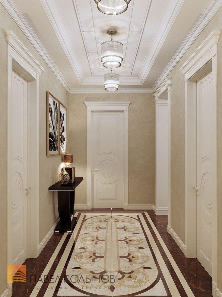 Фото холл из проекта «Дизайн четырехкомнатной квартиры в стиле Ар-деко, ЖК Привилегия, 172 кв.м.»